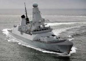 Великобритания приняла на вооружение третий эсминец класса `Д`