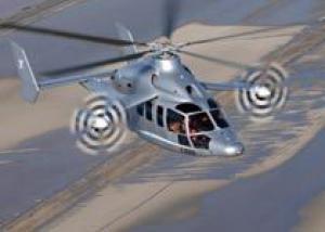 Скоростной вертолет X3 сумел разогнаться до 232 узлов