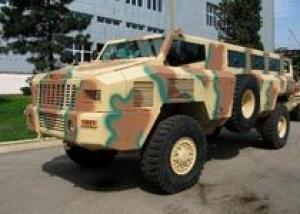Азербайджан продолжит выпуск южноафриканских бронемашин