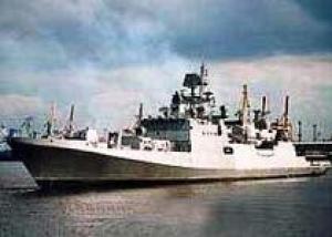 Третий индийский фрегат готов к спуску на воду