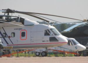 Два вертолета нового поколения Ми-38 с перспективным комплексом бортовой авионики примут участие в салоне МАКС-2011