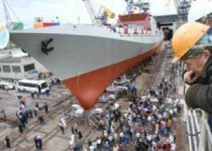 На ПСЗ `Янтарь` в Калининграде спустят на воду фрегат для ВМС Индии