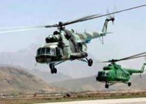 Россия создаст в Афганистане центр обслуживания вертолетов `Ми`