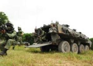Сингапур сформировал первый батальон бронетранспортеров Terrex