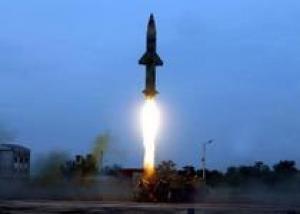 Индия испытала баллистическую ракету Prithvi