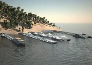 В России создан мобильный комплекс базирования кораблей