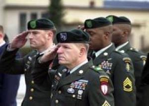 Американские военные сменят береты на кепи