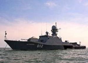Каспийская флотилия: корабли вышли в море