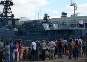 Российские корабли зайдут на базу ВМФ США перед началом учений
