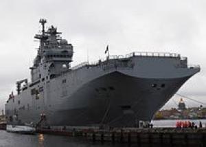 Россия подпишет контракт на два `Мистраля` до конца года