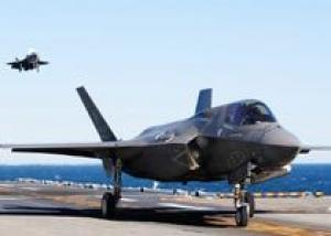 Истребитель F-35B прошел палубные испытания