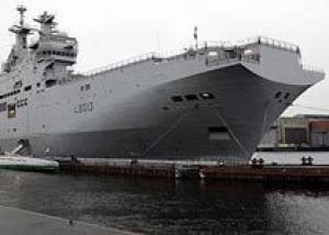 Балтийский завод построит для ВМФ России два вертолетоносца `Мистраль`