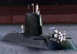 Германия передала Израилю четвертую подлодку типа `Дольфин`
