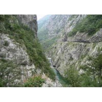 Горы Черногории пользуются популярностью у туристов