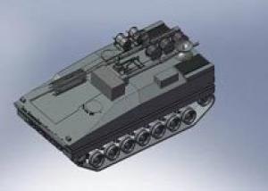 Первый опытный образец БМП `Курганец-25` будет изготовлен на `Курганмашзаводе` весной этого года