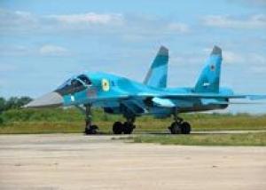 Строевые части Западного округа получили бомбардировщики Су-34