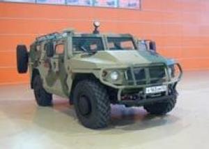 Бронеавтомобиль `Тигр-М` принимается на вооружение