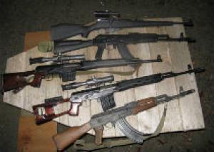 Полицейские Алтайского края изъяли арсенал оружия