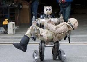 Минобороны создаст робота для эвакуации раненых