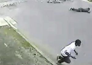 Полиция опубликовала видеозапись стрельбы в Новом Орлеане