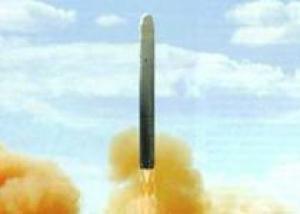 Успешный испытательный пуск прототипа новой межконтинентальной баллистической ракеты