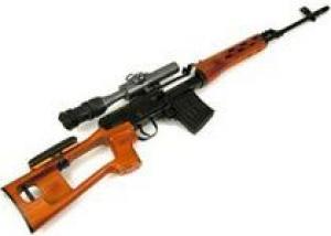 Снайперской винтовке Драгунова – 50 лет