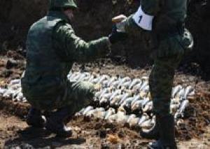 Более 22 тыс тонн боеприпасов утилизируют в ВВО в этом году
