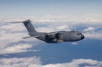 Проведено успешное испытание военно-транспортного самолета А400М по отделению тепловых ложных целей