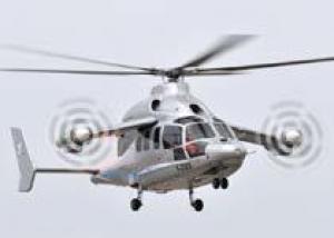 Демонстратор высокоскоростного вертолета X3 компании Eurocopter развил скорость 472 км/ч