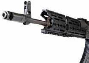 AK TRAX — модульное цевье для автомата Калашникова с планками Пикатинни