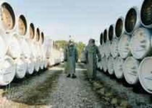 Россия уничтожила 75 процентов запасов химоружия