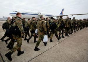 Европейские солдаты возвращаются с Сирии