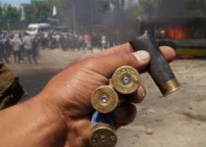 Гражданам Киргизии запретили носить оружие