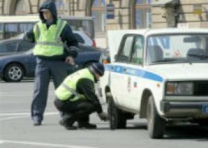 Полиция со стрельбой задерживала пьяного водителя