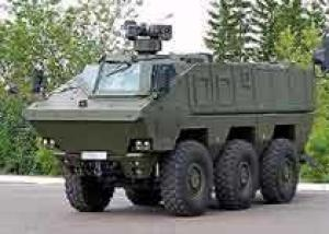 КАМАЗ впервые показал бронеавтомобиль КамАЗ-63969