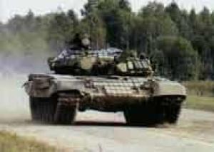 В Подмосковье завершились первые соревнования по танковому биатлону