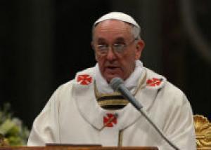 Папа Римский осудил использование химического оружия в Сирии