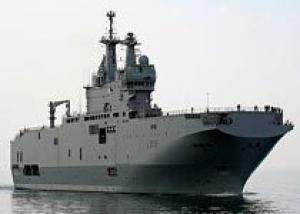 Французские корабелы определились с датой спуска первого российского `Мистраля`