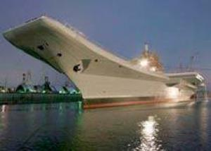 Авианосец `Викрамадитья` передадут Индии 15 ноября