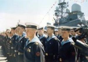 Балтийский флот завершил прием новобранцев осеннего призыва