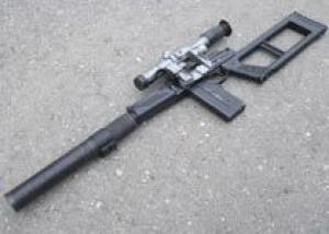 ВСК-94 - бесшумный снайперский комплекс стоит на вооружении ВВ МВД России
