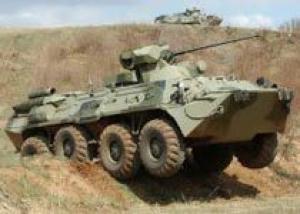 Новые БТР-82АМ прошли испытания под Самарой