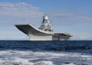 Авианосец `Викрамадитья` прибыл на базу ВМС Индии `Карвар` в штате Карнатака