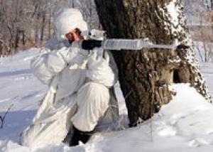 На полигонах в Чечне снайперы ЮВО совершенствуют профессиональное мастерство
