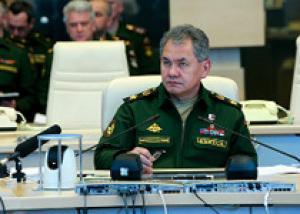 Сергей Шойгу провел селекторное совещание с руководящим составом Вооруженных Сил