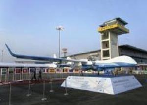 Новый разведывательный БПЛА Super Heron HF ВВС Израиля показали на авиасалоне в Сингапуре