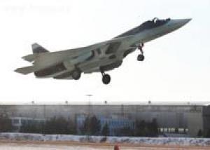 Истребитель Т-50 перегонят для испытаний в Ахтубинск