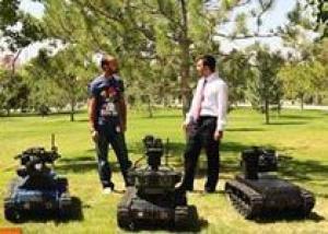 Компания Aselsan показывает результаты разработки своего наземного робота