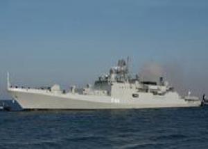 Спущен на воду новый фрегат для Черноморского флота