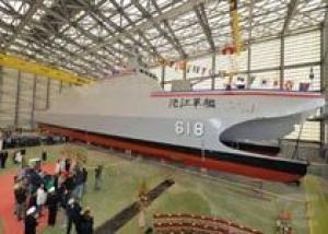 Тайвань спустил на воду `убийцу авианосцев`